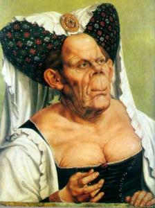 Женщины и девушки с каким цветом волос в Средневековье считались идеалом женской красоты?