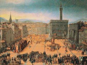 Сколько человек жило во Флоренции в 13 веке?