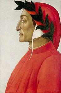 Какое произведение принадлежит перу Данте?