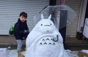 Из скольких шаров лепят снеговиков в Японии?